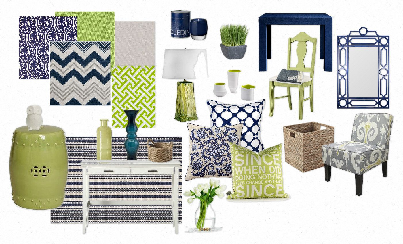 Grey And Lime Green Living Room navy blue living room. zamp.co