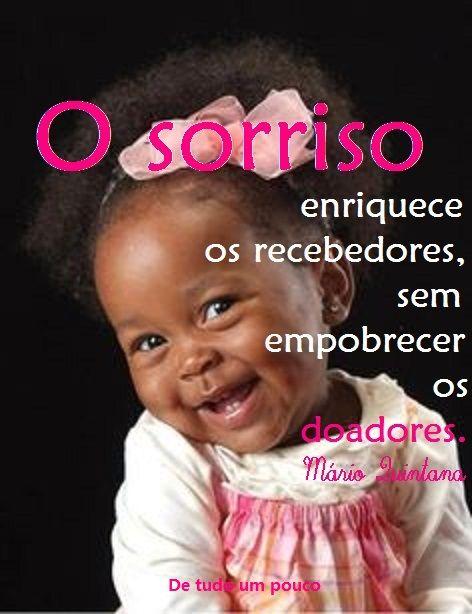 O sorriso... :)