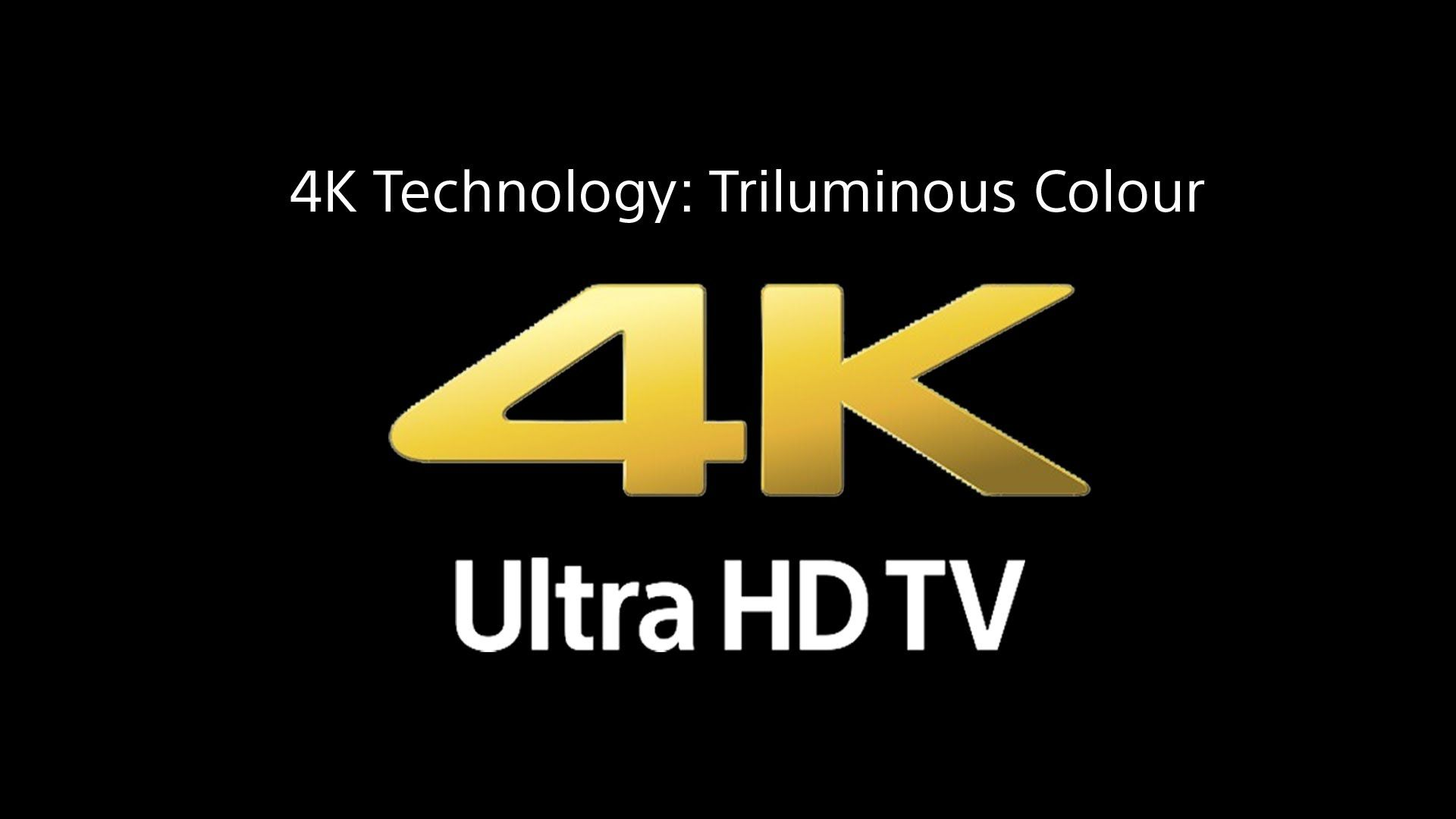 Triluminos colour on sony bravia and 4k tv 39 s sony 4k and hd television war sony national - Sony bravia logo hd ...