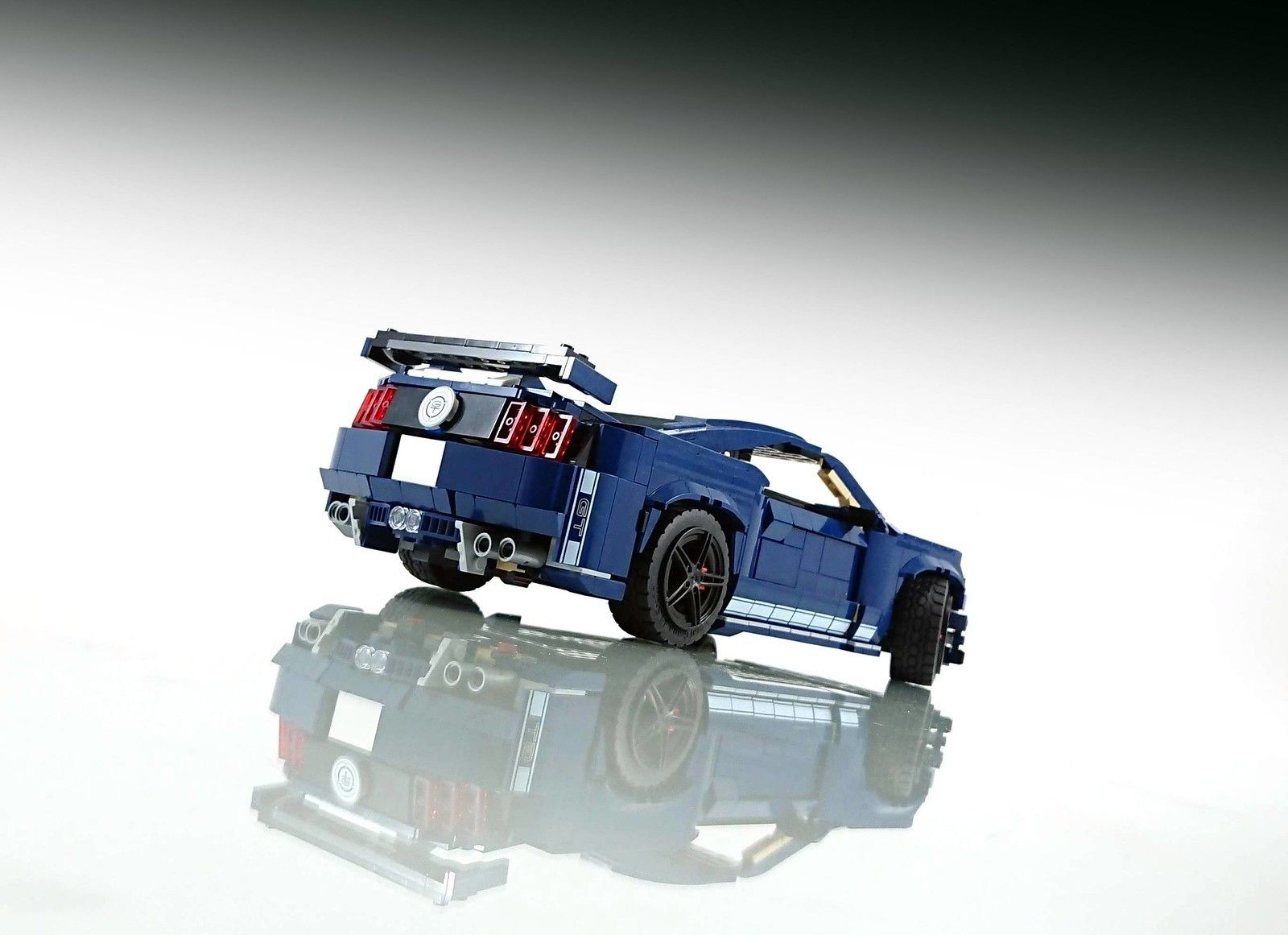 Ford Mustang Shelby GT500 10265 Model B MOC        Ford Mustang Shelby GT500 10265 Modell B MOC | H