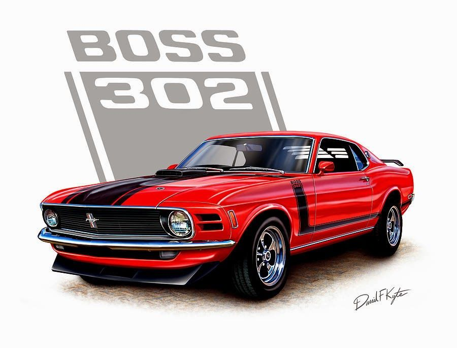 The Best Old Muscle cars 1970 Boss 302 Mustang | Mustang Mach 1 ...