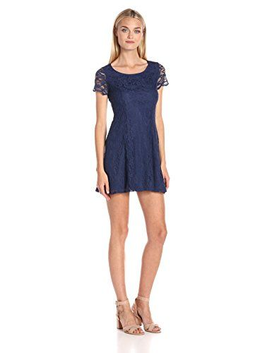 Bcbgeneration Womens Lace Dress Navy Sea 2 You Can Find