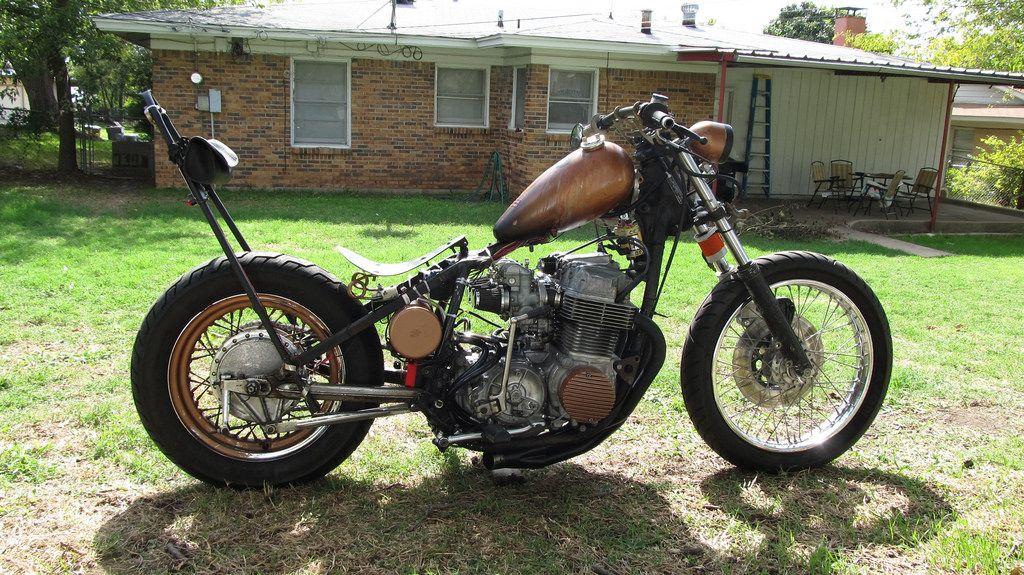 My Rat Rod Motorcycle 1974 Honda Cb750 Chopper Bobber