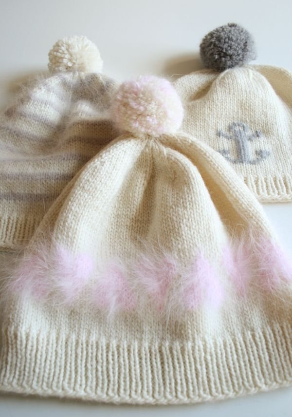 Whit\'s Knits: Soft and Sweet Hats | sombreros pinches | Croché ...