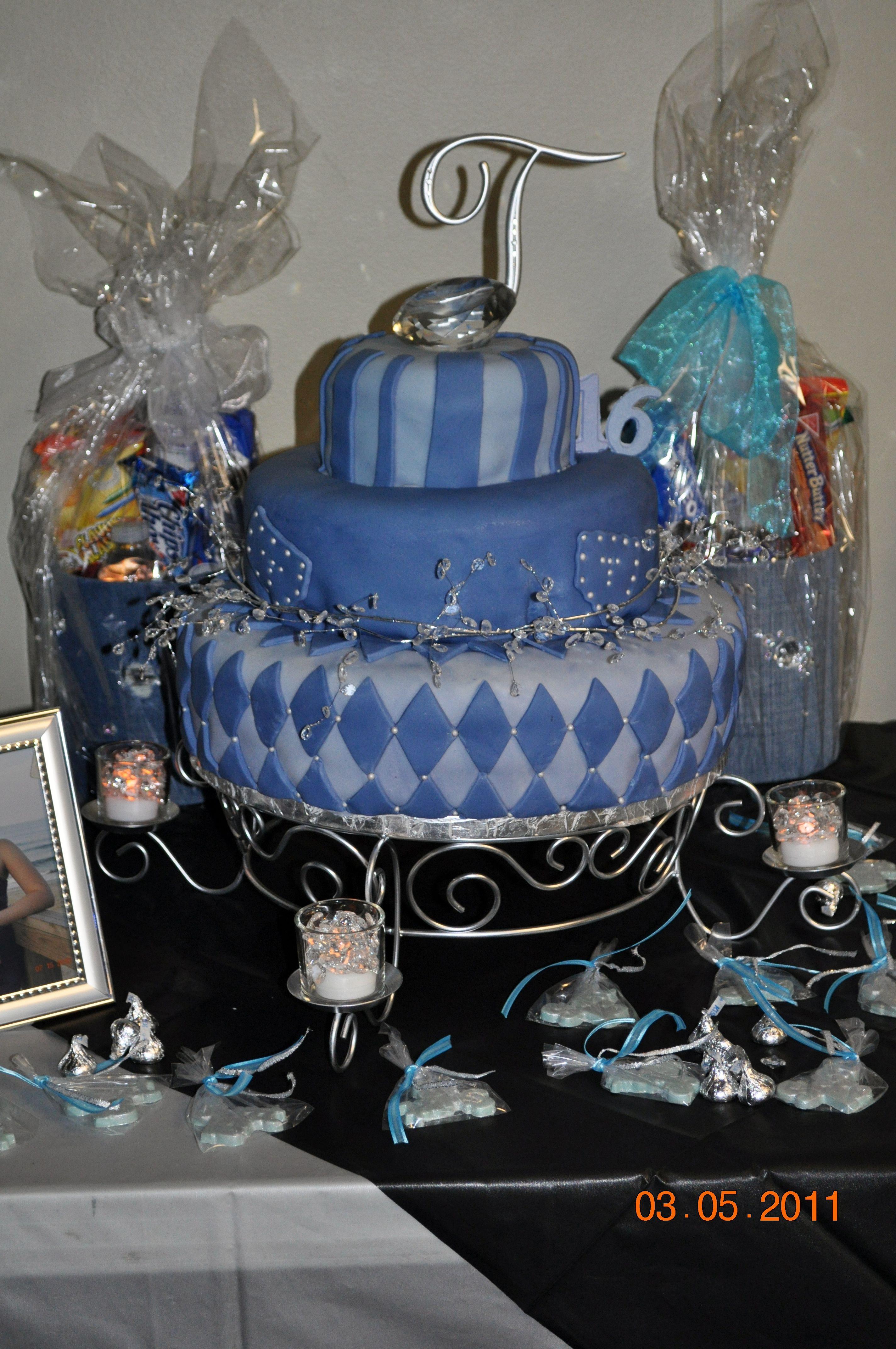 Denim Diamonds Party Cake Ideas And Designs