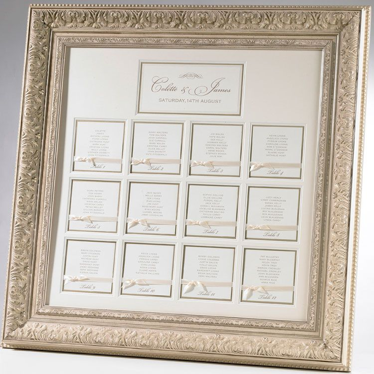 luxe framed table plan double mount finished with hand