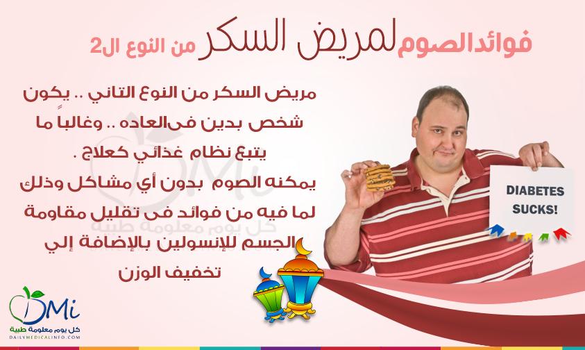 الصيام له فوائده لمرضى السكر من النوع الثانى Diabetes Alo