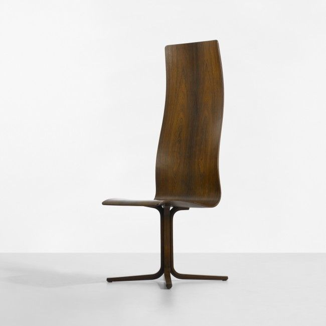 Arne Jacobsen Rare Oxford Chair For St. Catherineu0027s College Fritz Hansen  Denmark, 1963 Rosewood