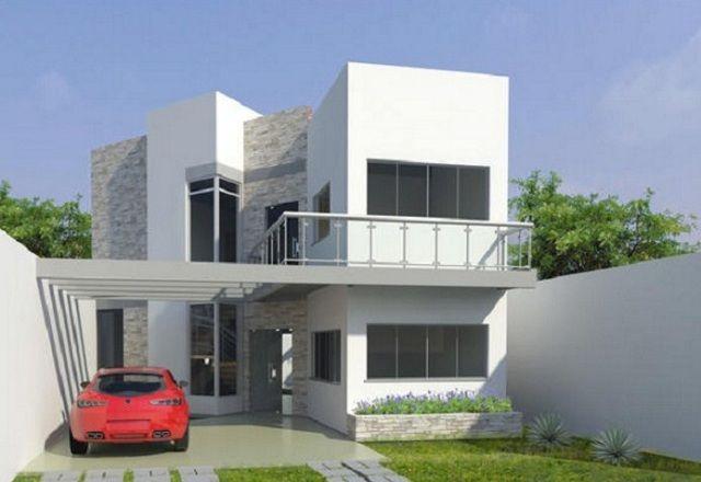 Plano De Casa De 175 M2 Planos De Casas Modernas Planos De Casas Casas De Dos Pisos