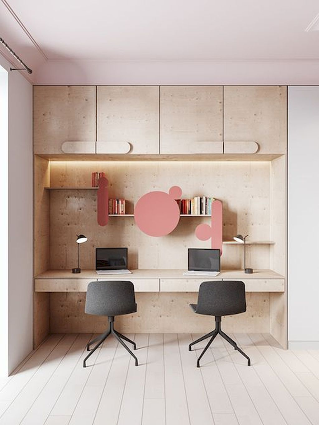 Interior Design Girls Study Room: Clever Workspace Ideas For Small Space 23