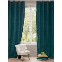 Rideau Colours Zen Turquoise 140 X 240 Cm Maison Pinterest