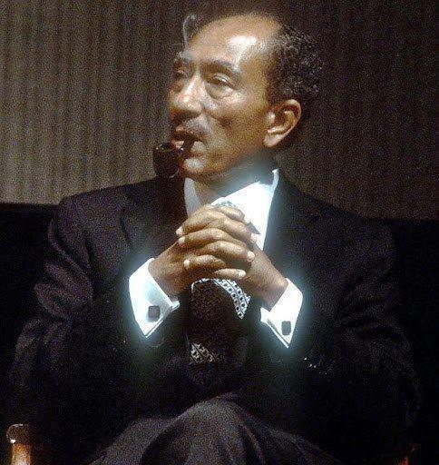 Anwar Al-Sadat, former president of Egypt.