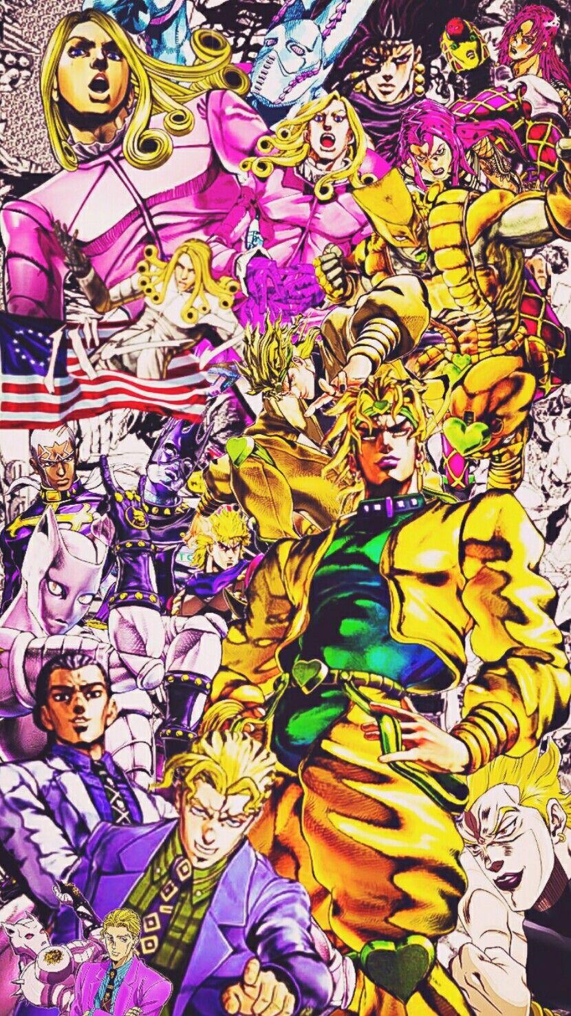 Villains imagens) Anime, Desenho, Jojo