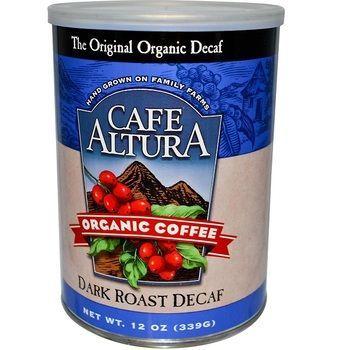 Cafe Altura Organic Decaf Dark Roast (6x12Oz)