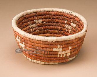 "Navajo Style Palm Basket 5"""" (a43)"