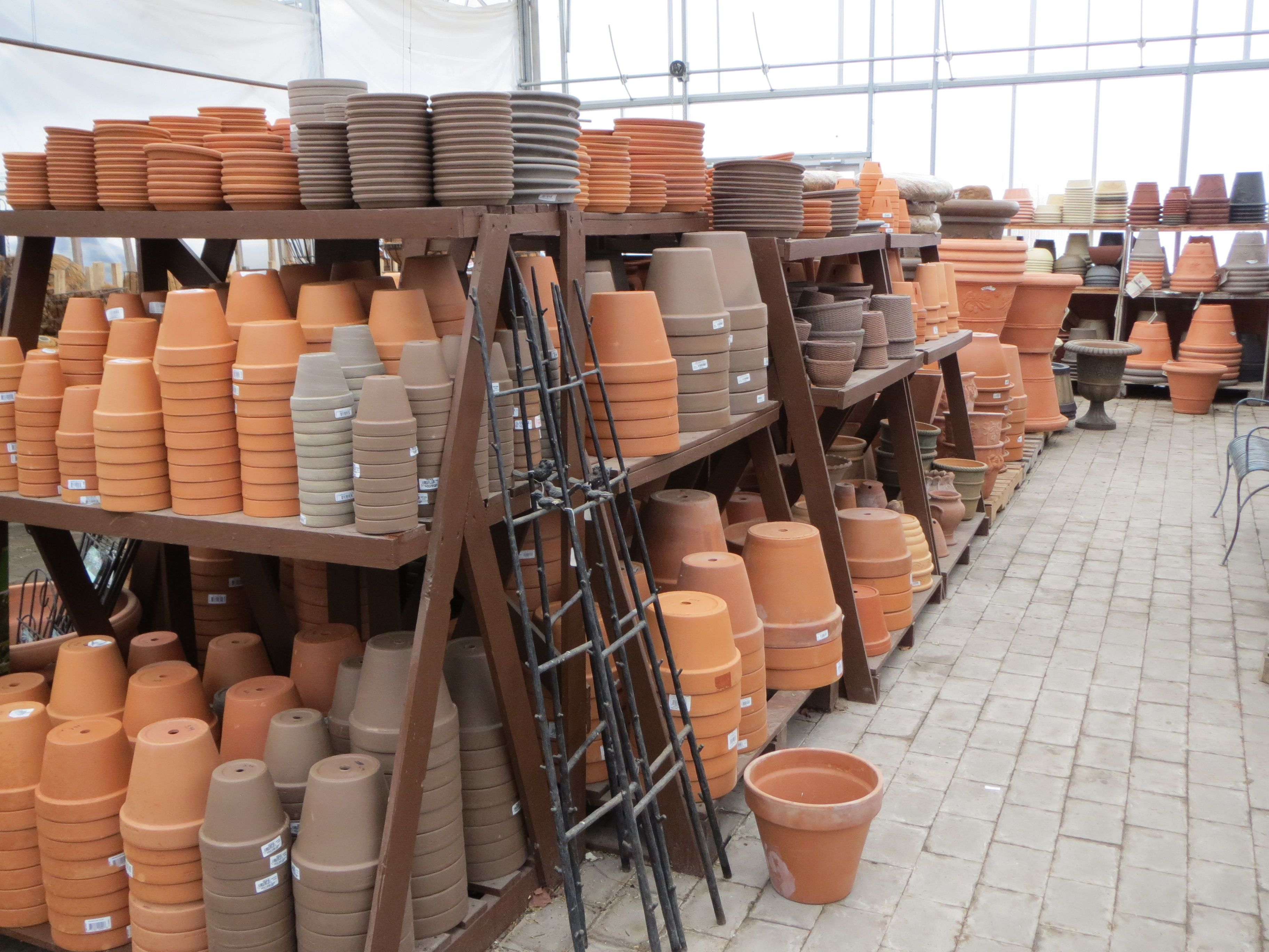 Nice Like Terracotta Natural Pottery? Bristolu0027s Garden Center (Victor, NY) Has  What You