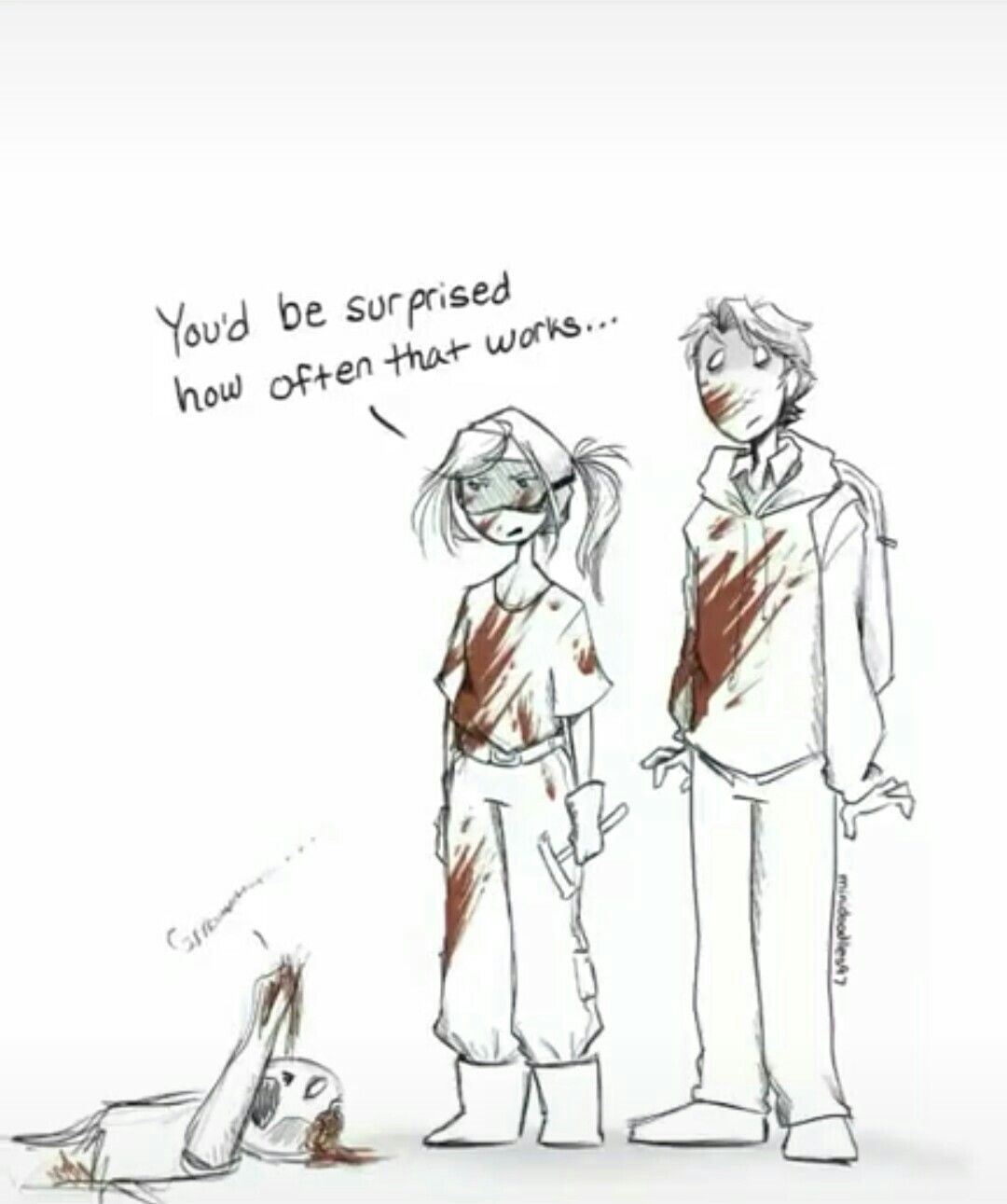 Cinder and Kai Zombie AU (I forgot who wrote the fanfic