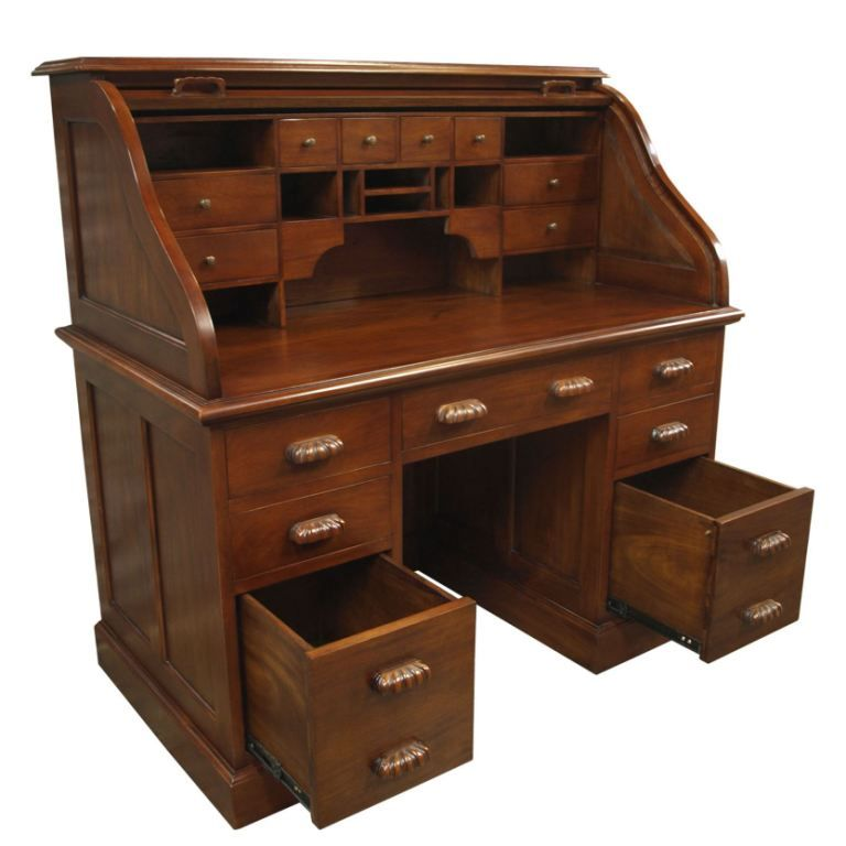 Best Roll Top Bureau Mahogany Home Furniture Furniture 640 x 480