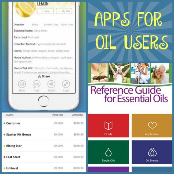 Want information about your essential oils at your fingertips? Need to manage your Young Living oil business? These apps will help you stay connected.