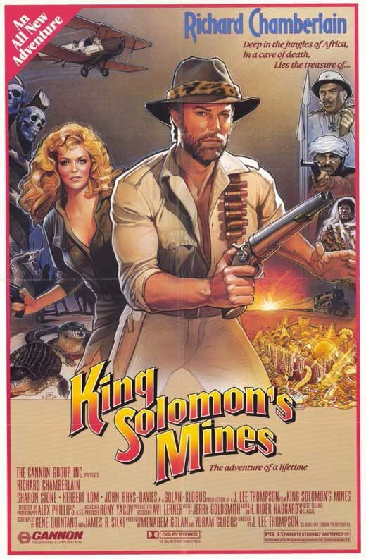King Solomon S Mines 1985 Richard Chamberlain Dvd King