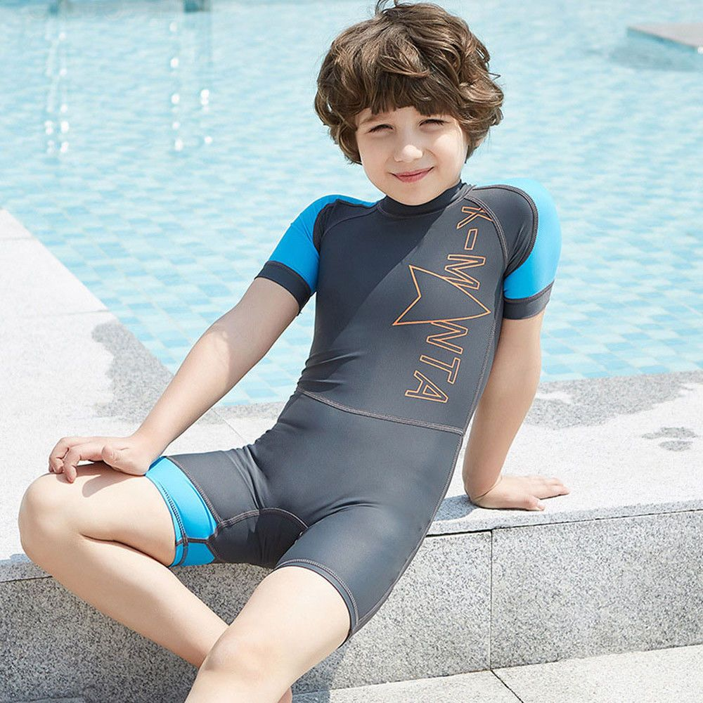 d47c4c77bb Kids Boy Girl Swimsuit One Piece Surfing Suits Beach Swimwear Rash Guard  #Unbranded #OnePiece