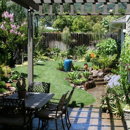 7 Affordable Landscaping Ideas For Under 1 000: Inexpensive Backyard Landscaping Home Design Ideas