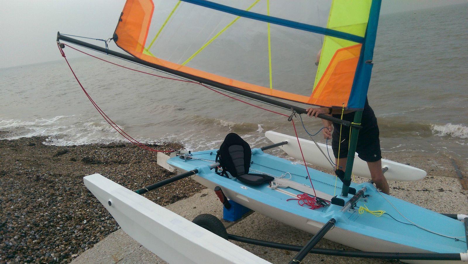 Trimaran Sailing Dinghy