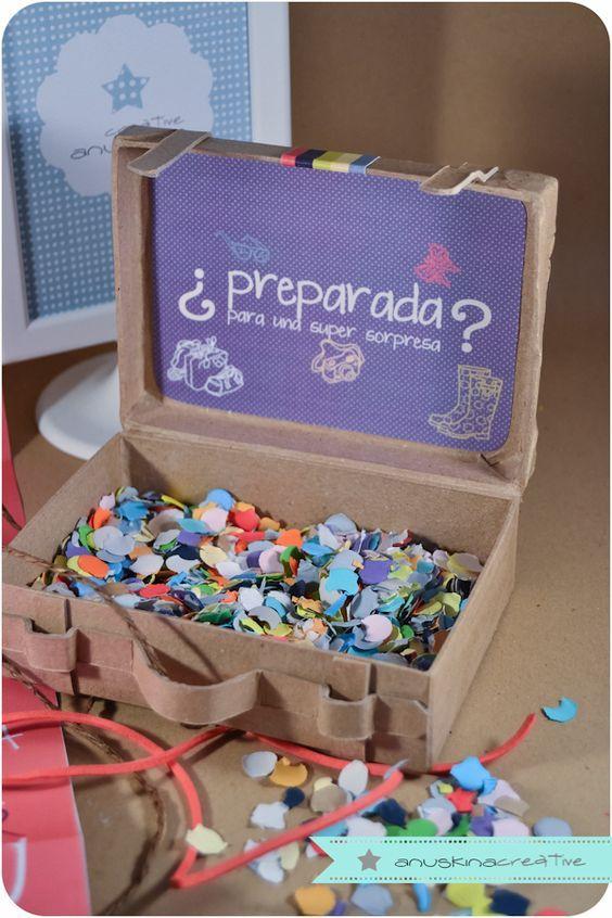 Caja con mensaje a mano 45 ideas para envolver regalos - Ideas originales con fotos ...