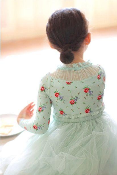 Amber Rosed Dress - jujubunnyshop