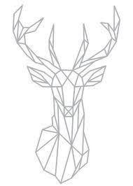 bildergebnis f r geometrische tiere hirsch quilts art drawings und geometric deer. Black Bedroom Furniture Sets. Home Design Ideas