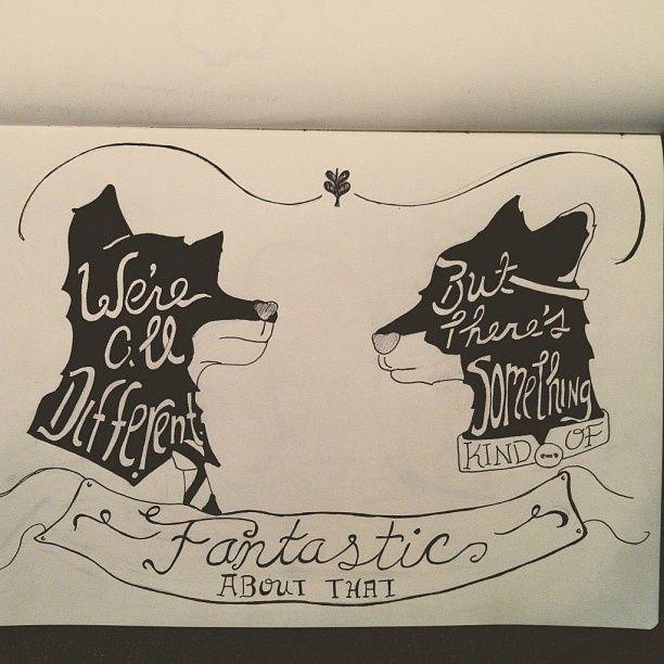 Tattoo Images I Like Fantastic Mr Fox Fantastic Mr Fox Quotes Fox Illustration