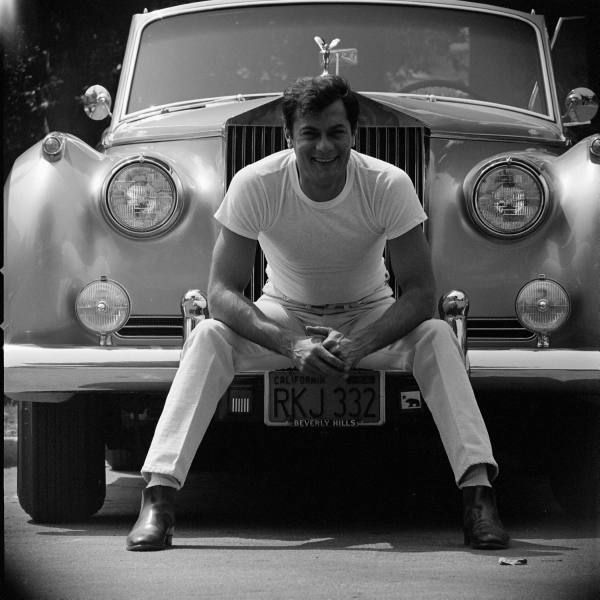 Tony Curtis And his Rolls Royce, 1961 | Stars and Their ...