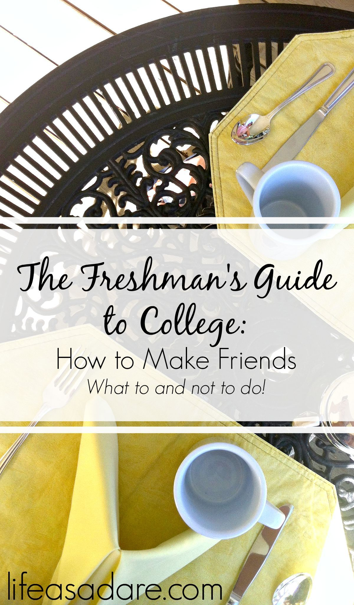 Making friends in college can be really tough at times Dont fear thoughthere are definitely things you can do to make it easier Here are some of my tips and tricks to mak...