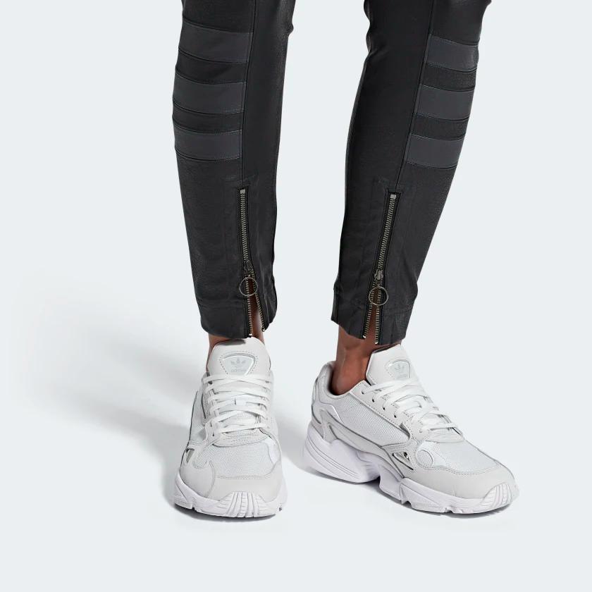 Falcon Shoes White Womens | Adidas, Adidas shoes women