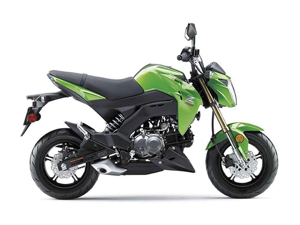 The 2017 Kawasaki Z125 Pro