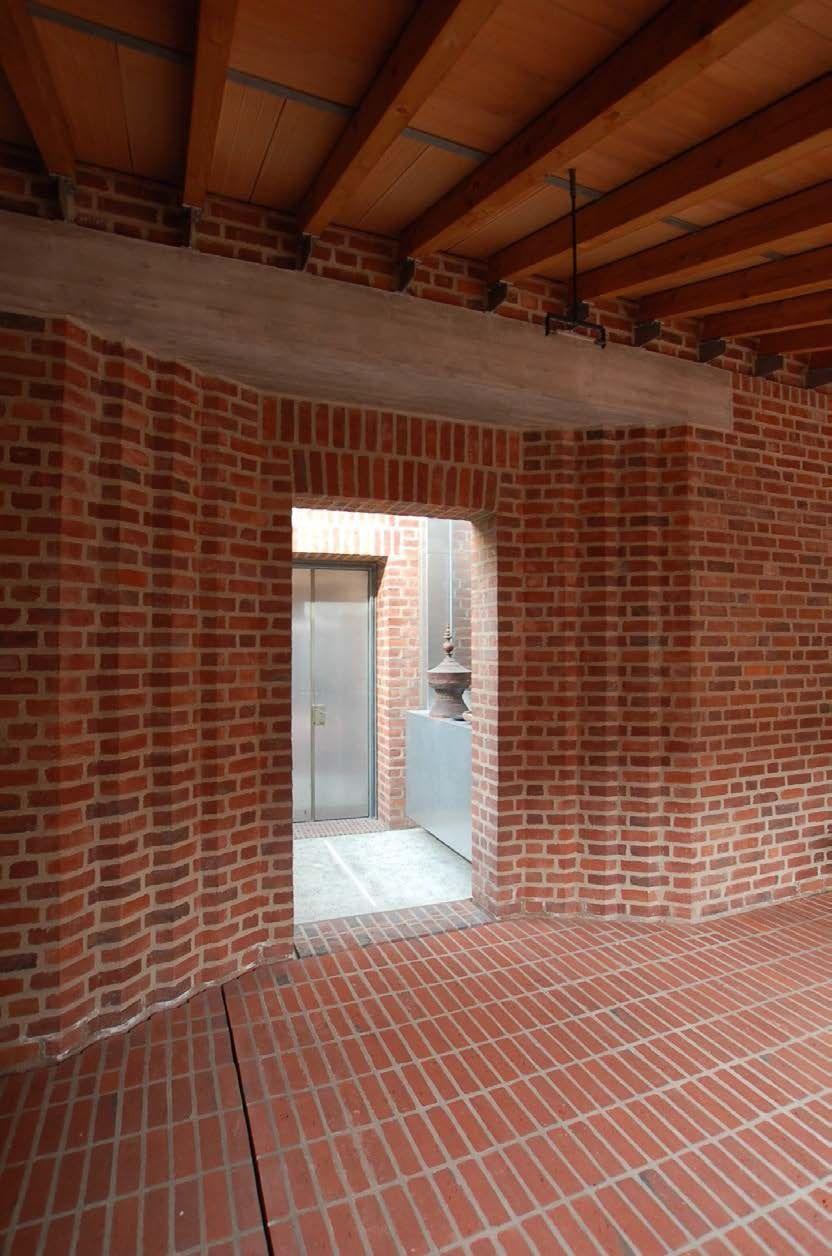 Heinz Bienefeld A Brick Theatre Design Und Architecture