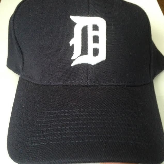 Old English D Baseball Cap (fitted) large-XL only