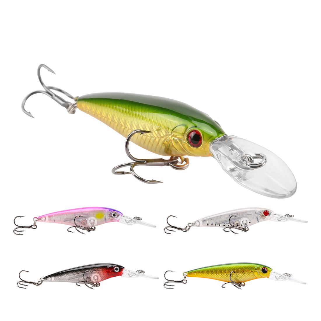 SeaKnight Minnow Fishing Lures Floating Sea Fishing Lures For Bass,Pike