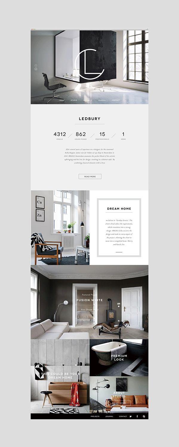 Ledbury On Branding Served Ledbury Web Inspiration Design