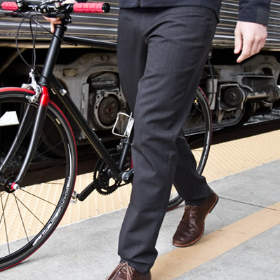 Makers Riders Made In Chicago Urban Cycling Commuter Apparel Clothing Neoshell Pants Commuter Pant Biking Outfit Technical Clothing Urban Cycling