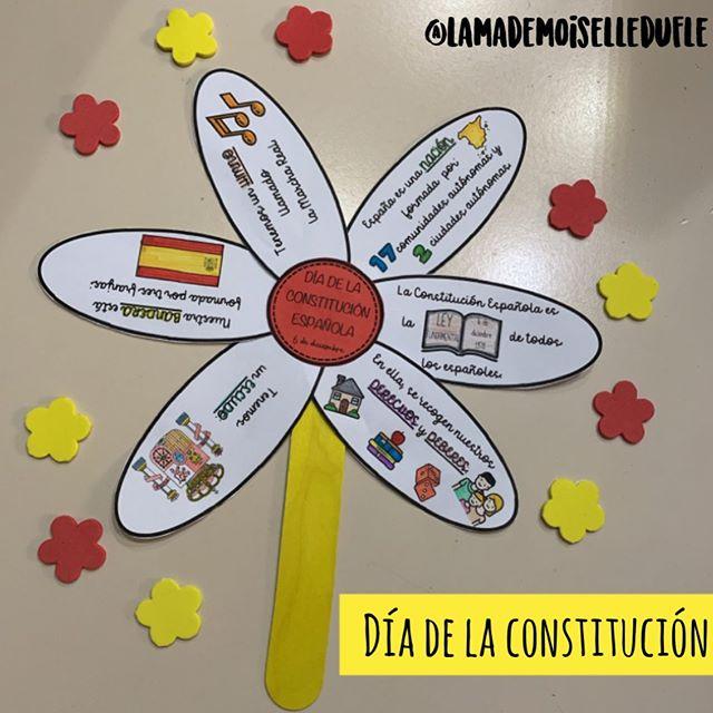𝗟𝗮 𝗺𝗮𝗱𝗲𝗺𝗼𝗶𝘀𝗲𝗹𝗹𝗲 𝗱𝘂 𝗙𝗟𝗘 En Instagram Dia De La Constitucion Hace Unos Dias Dia De La Constitucion Constitucion Para Ninos Constitucion