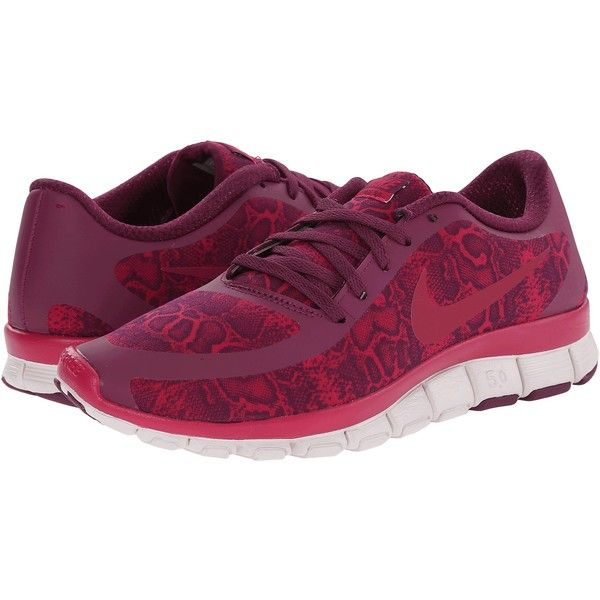 Womens Shoes Nike Free 5.0 V4 Mulberry/Venice/Sport Fuchsia