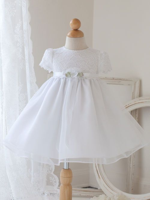 Cute White Lace Baby Dress