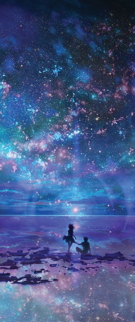 Ocean, Stars, Sky, and You by muddymelly on DeviantArt
