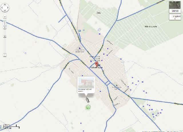 kiskunmajsa térkép Kiskunmajsa is a Google térkép utca nézetében | Kunsági Hírlap  kiskunmajsa térkép