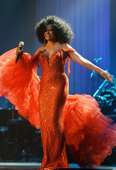 Diana Ross Concert Dresses