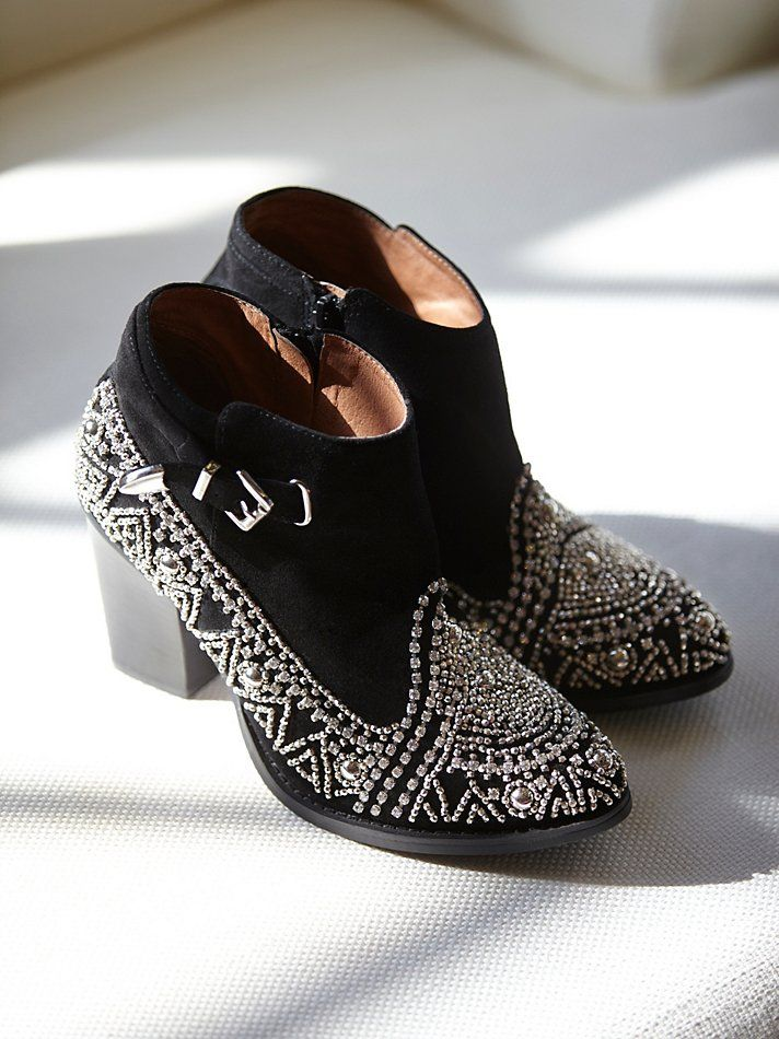 Jeffrey Campbell After Dark Ankle Boot At Free People