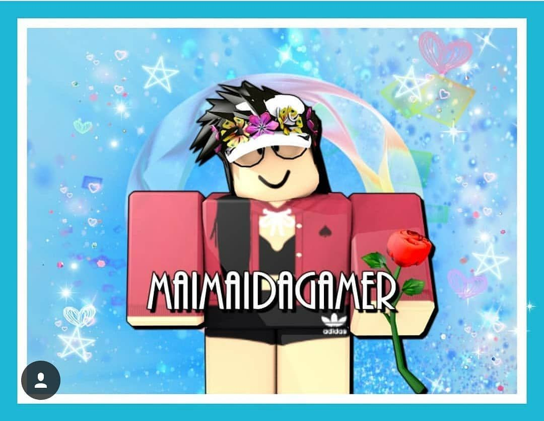 Thank You So Much Yt Aero For Making Me This Gfx It S So Cute And It Looks Amazing Thankyou Gfx Roblox G Roblox Pictures Roblox Mario Characters