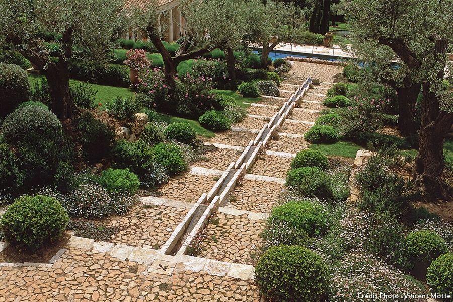 7 id es pour cr er un jardin m diterran en contemporain les plus beaux jardins jardin - Creer un jardin contemporain ...