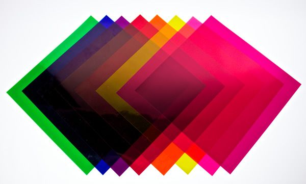 10 In Colored Gels For Theatrical Lighting Par Cans 12
